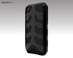 Capsule Rebel for iPhone 3G - Black