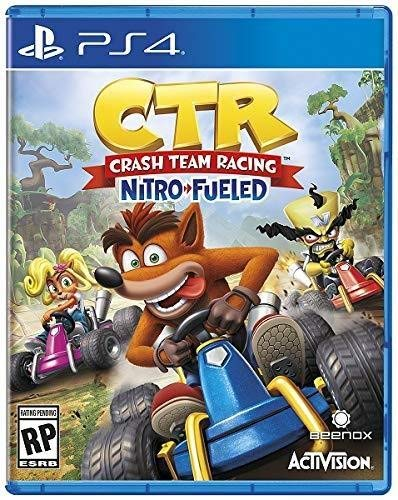 PS4 CTR Crash Team Racing Nitro Fueled em Português