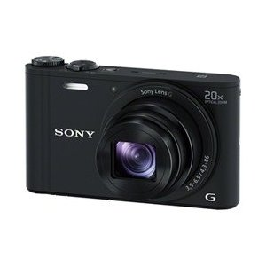 Sony Cyber-Shot DSC-WX350 18 MP - Black