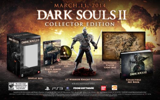 Dark Souls 2 Collector's Edition for PS3 US