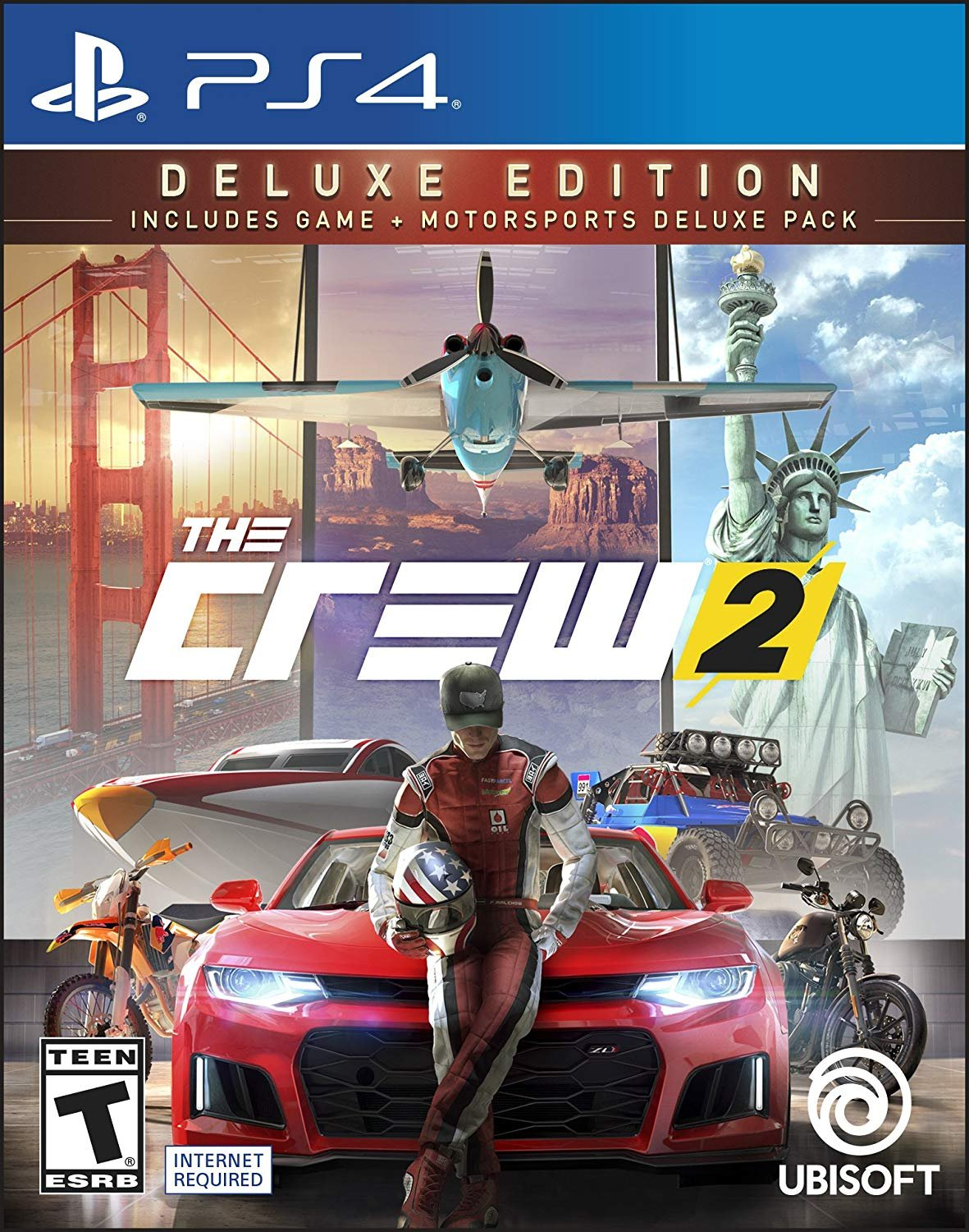 PS4 The Crew 2 Deluxe Edition em Portugues
