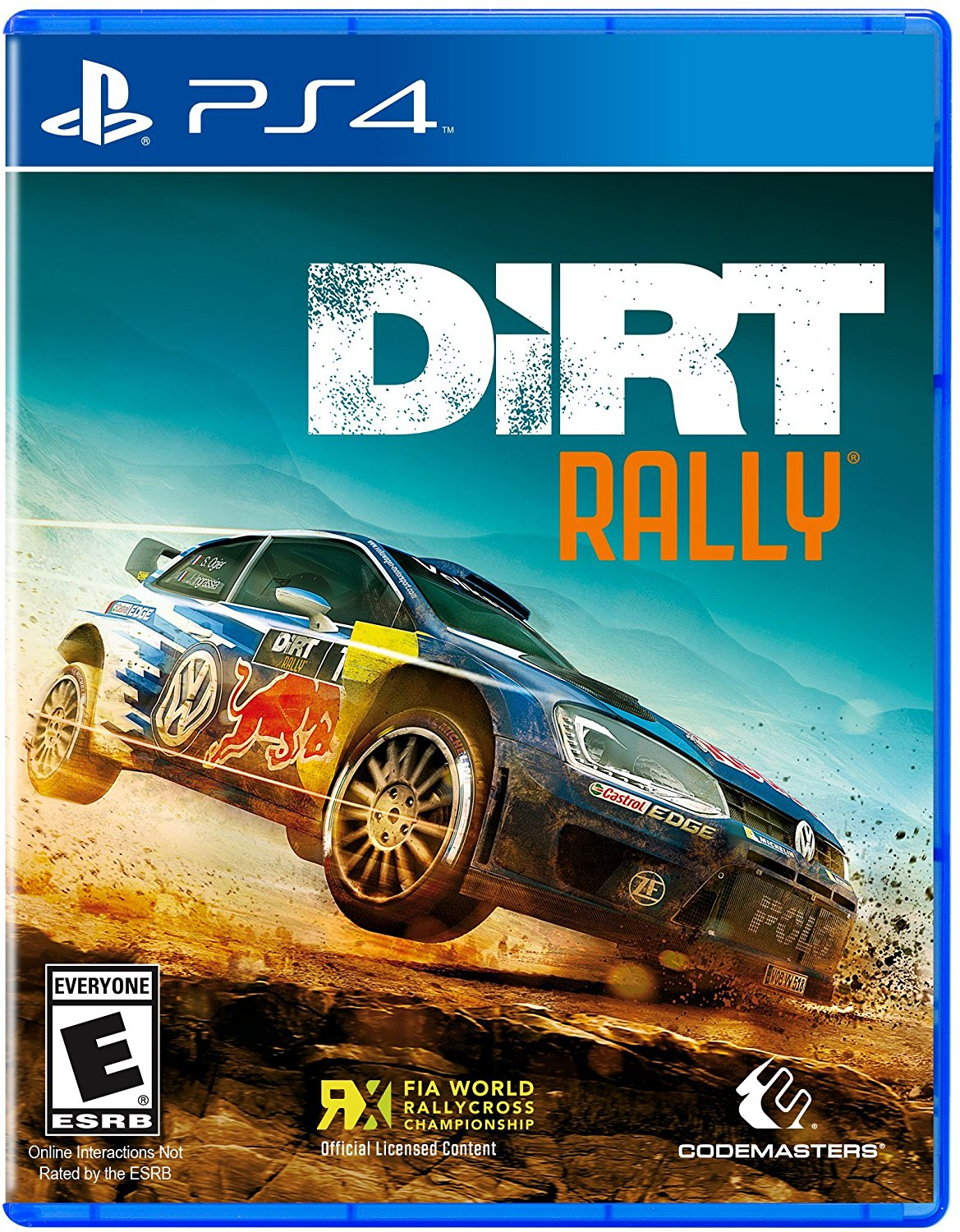 PS4 Dirt rally (PlayStation 4)