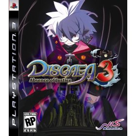 Disgaea 3 Absence of Justice for PS3 US