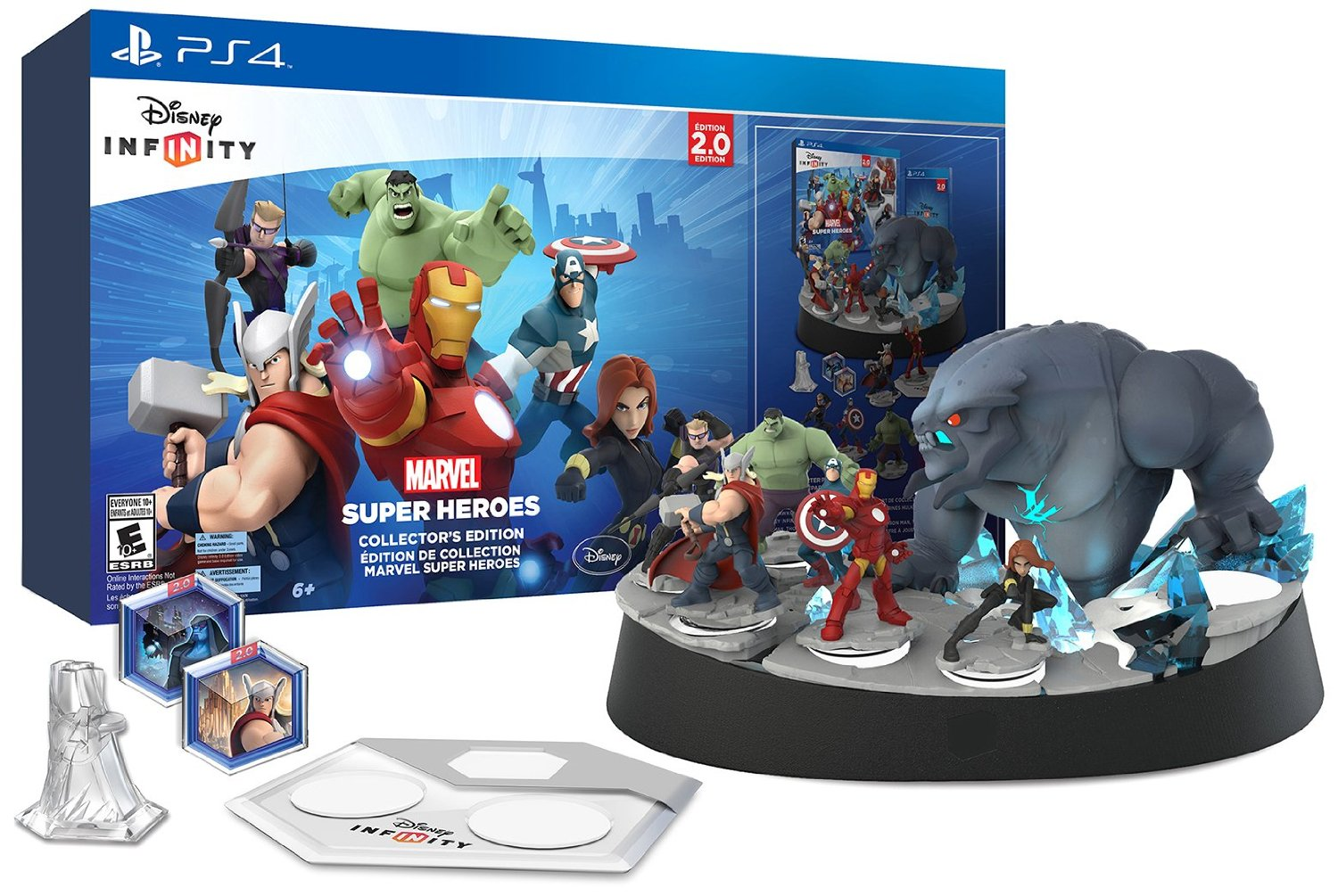 PS4 Disney Infinity Marvel Super Heroes (PlayStation 4)