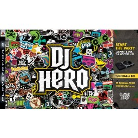 DJ Hero Bundle with Turntable for PS3 US
