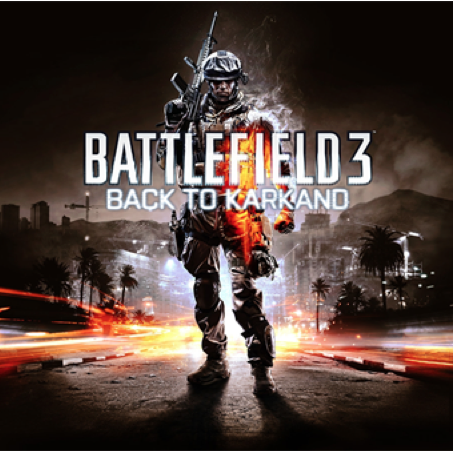 Cartao PSN Card $20 BF3 Battlefield 3: Back to Karkand DLC