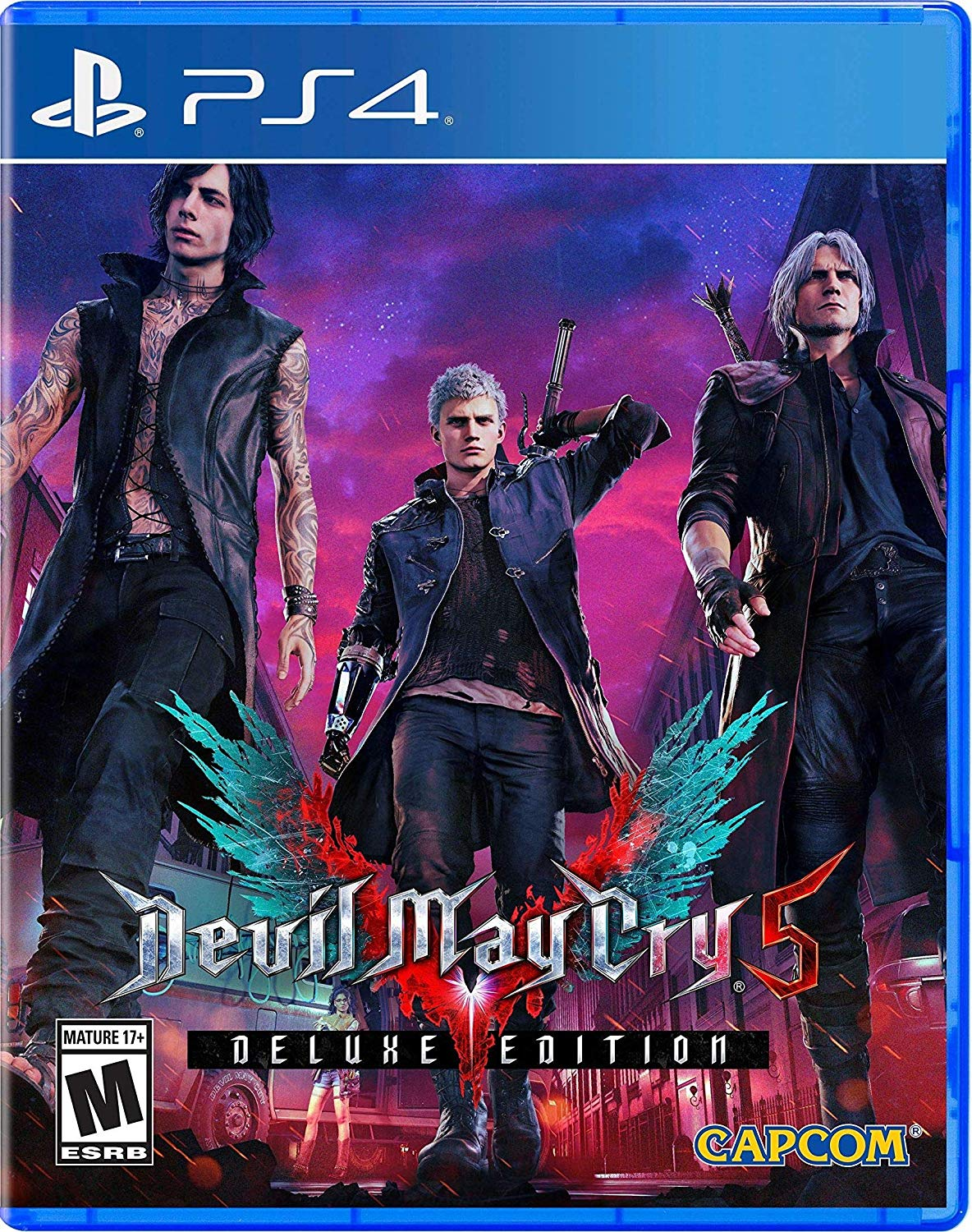 PS4 DMC5 Devil May Cry 5 DELUXE Edition