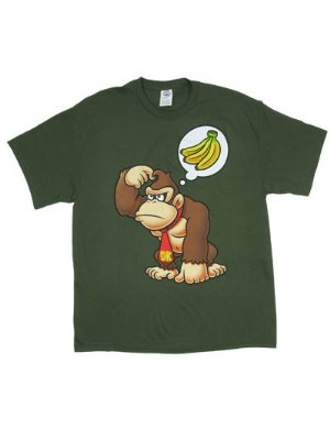Nintendo Bananas On The Mind Donkey Kong