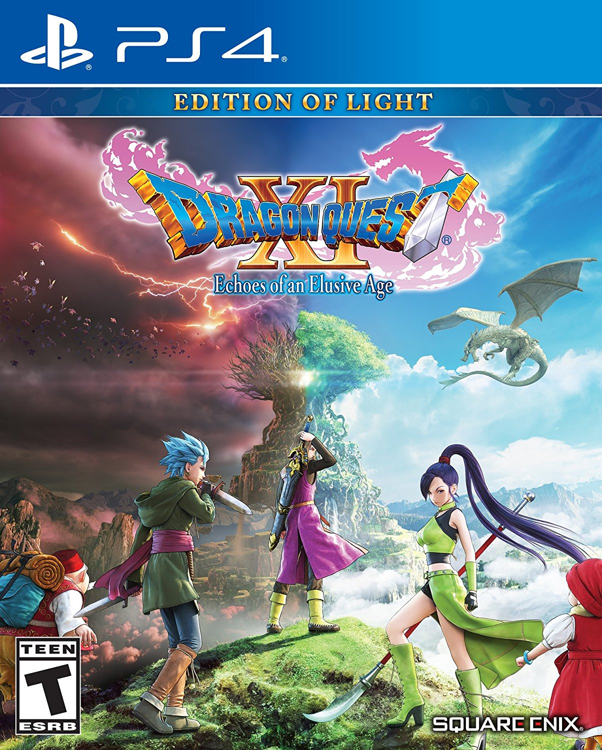 PS4 Dragon Quest XI Echoes of an Elusive Age en Español