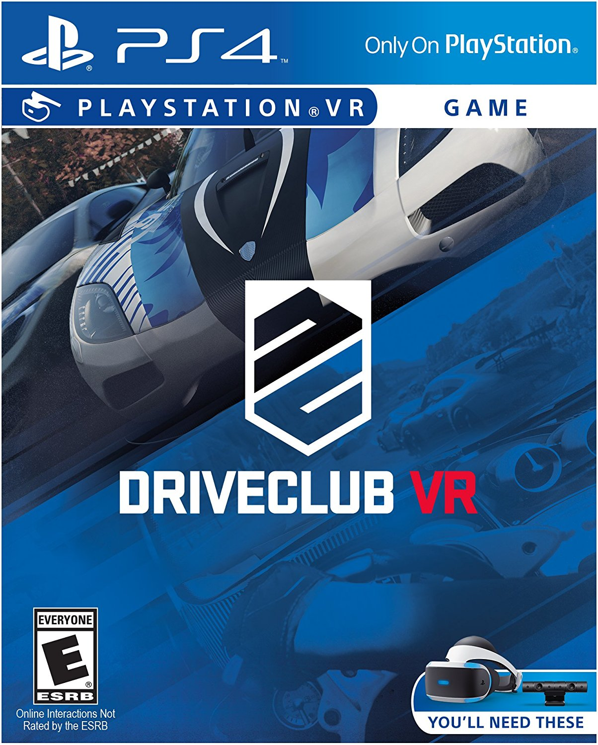 PS4 PSVR DriveClub