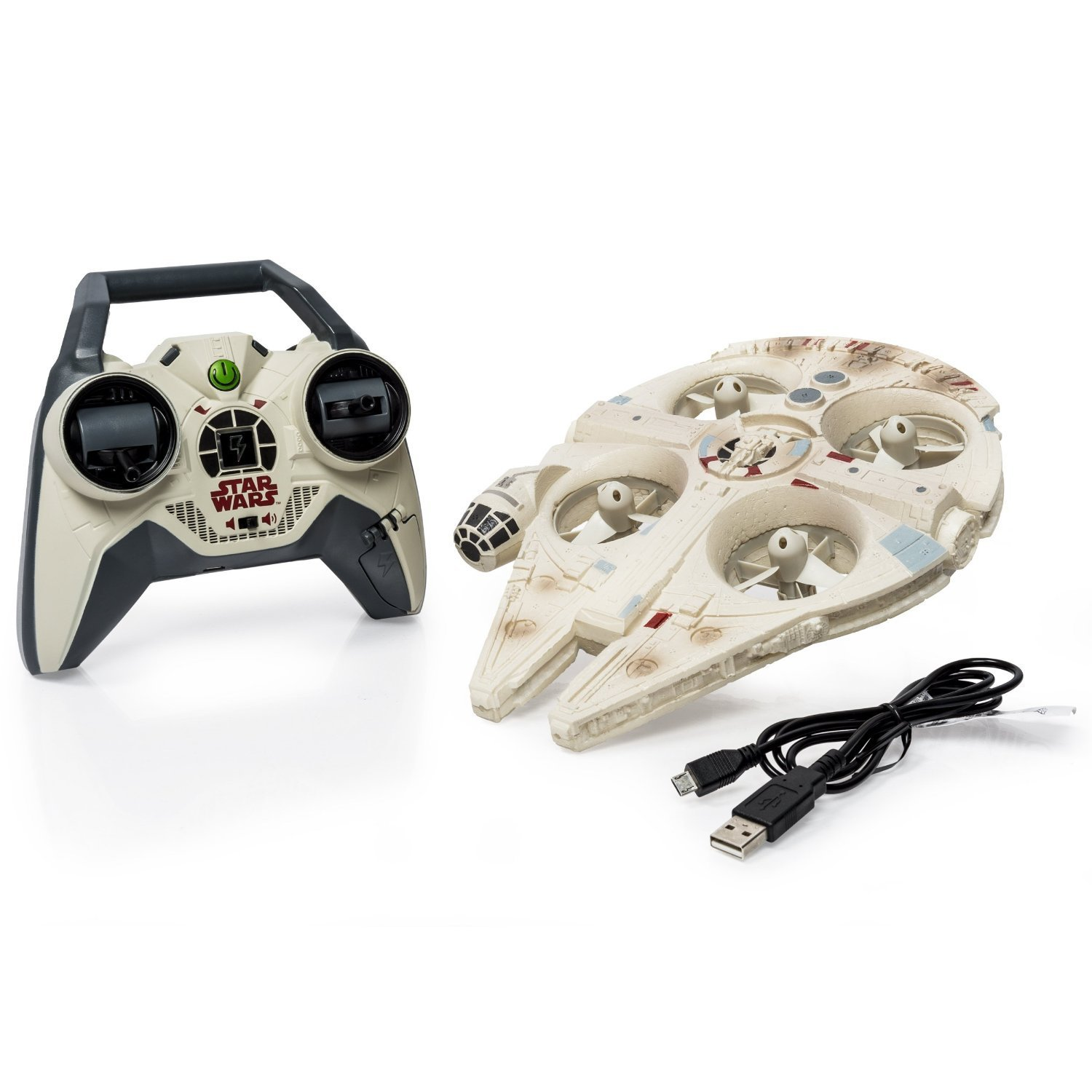 Air Hogs Star Wars Ultimate Millennium Falcon Drone QUAD