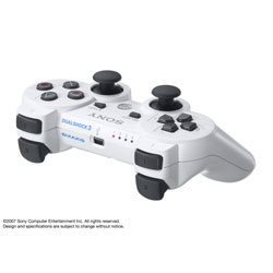 Controle DUAL SHOCK 3 WHITE for PlayStation3