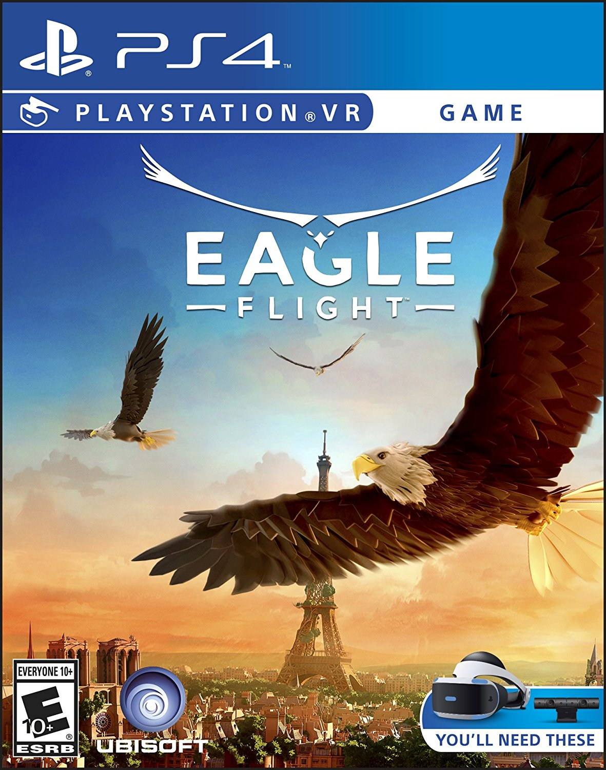 PS4 PSVR Eagle Flight