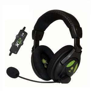 Ear Force X12 Gaming Headset Amplified Stereo Sound Xbox360