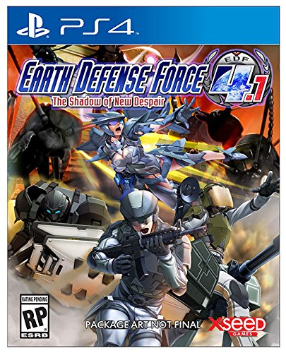 PS4 Earth Defense Force 4.1 The Shadow of New Despair