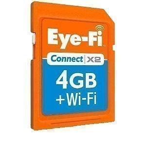 Eye-Fi Explore Video 4GB SD Card Wi-Fi