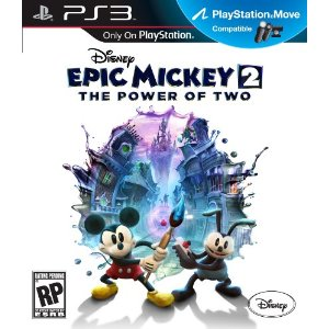 Disney Epic Mickey 2: The Power of Two for PS3 US