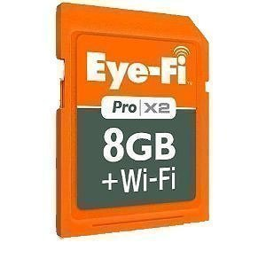 Eye-Fi Pro X2 8GB SD Card Wi-Fi