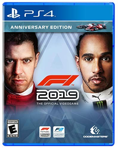 PS4 F1 2019 Formula One Anniversary Edition