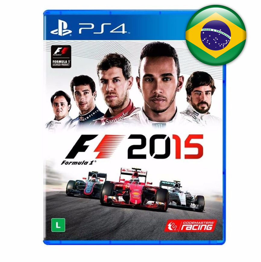 PS4 F1 2015 Formula One em Portugues (PlayStation 4)