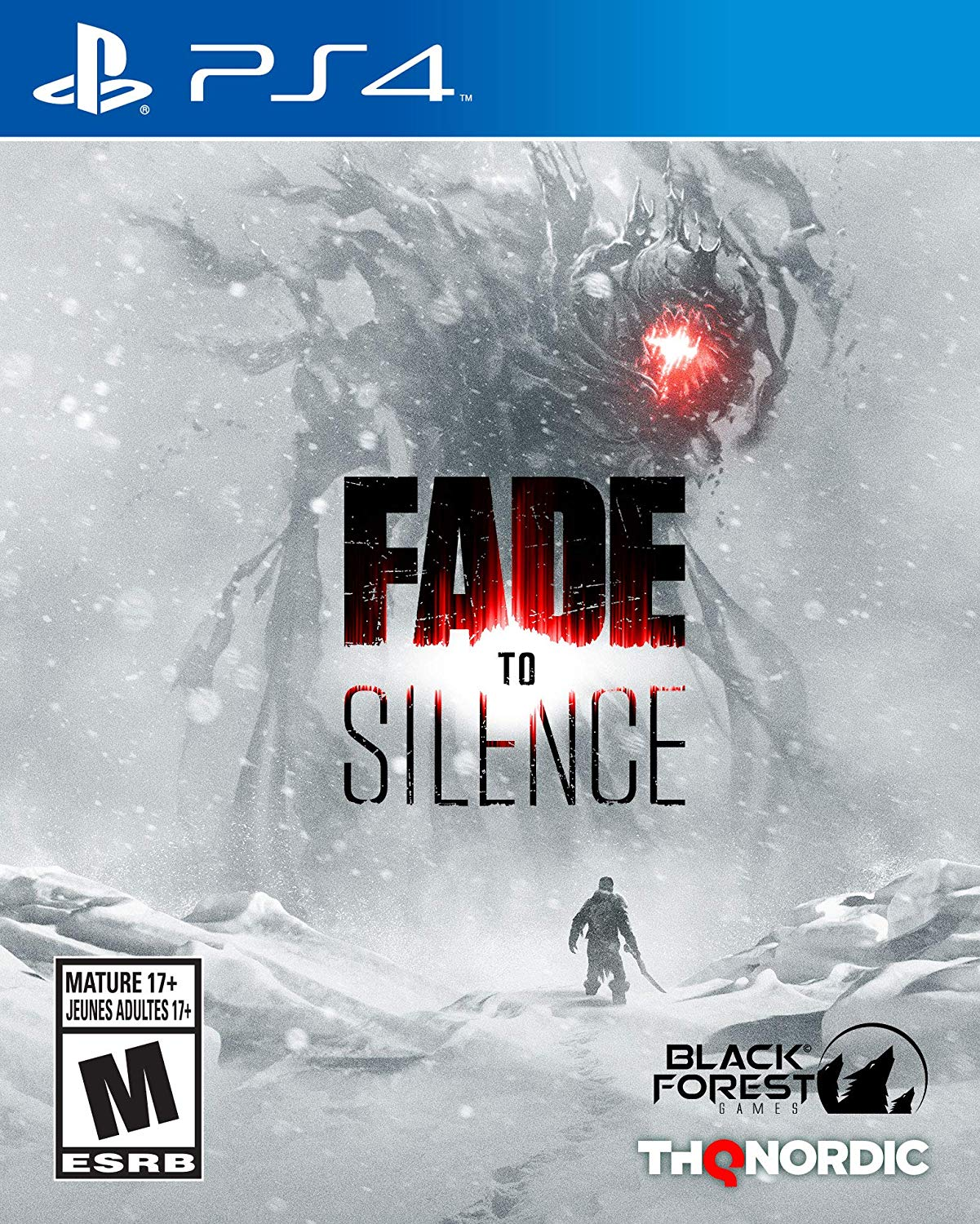 PS4 Fade to Silence (PlayStation 4)