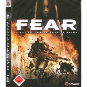F.E.A.R. First Encounter Assault Recon for PS3 US