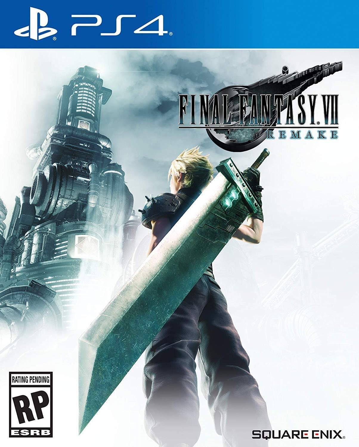 PS4 Final Fantasy VII: Remake (PlayStation 4)
