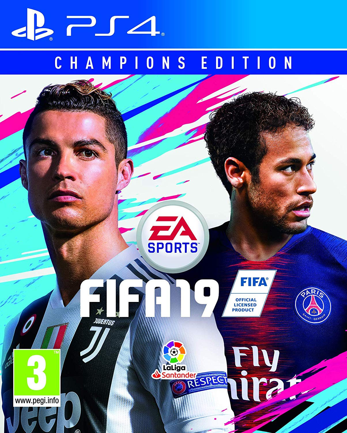 PS4 EA Sports FIFA 19 em Español Edición Champions (PlayStation
