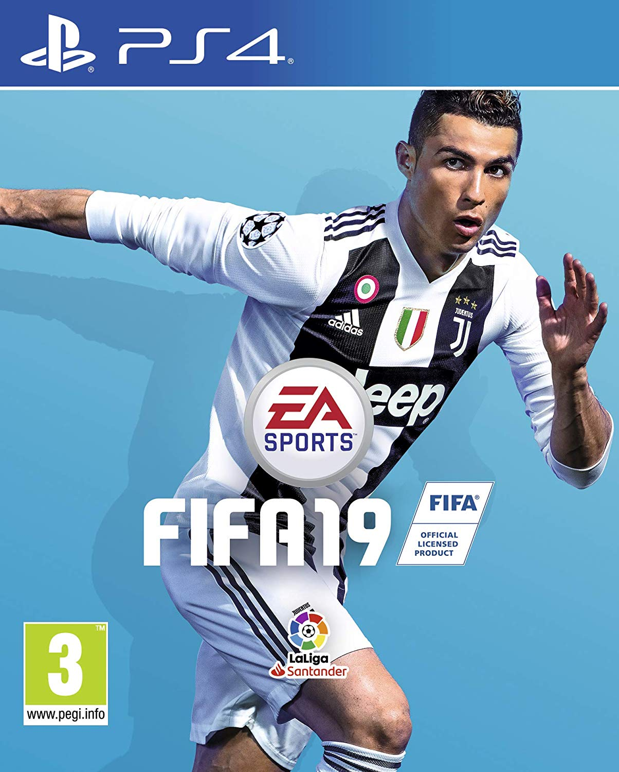 PS4 EA Sports FIFA 19 em Español (PlayStation 4)