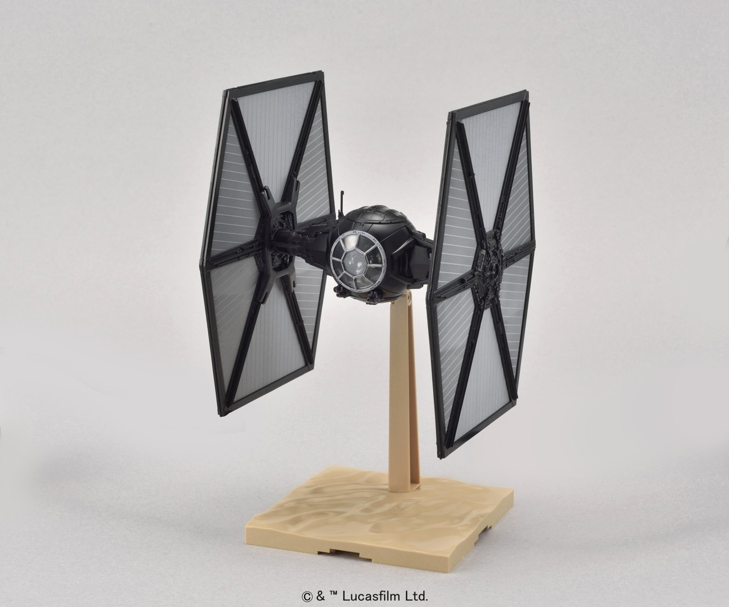 Bandai Star Wars Tie Fighter First Order 1/72 Plastic Model