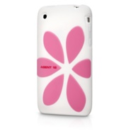 Agent 18 FlowerVest for iPhone 3G (white/Pink)