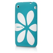 Agent 18 FlowerVest for iPhone 3G (green/white)