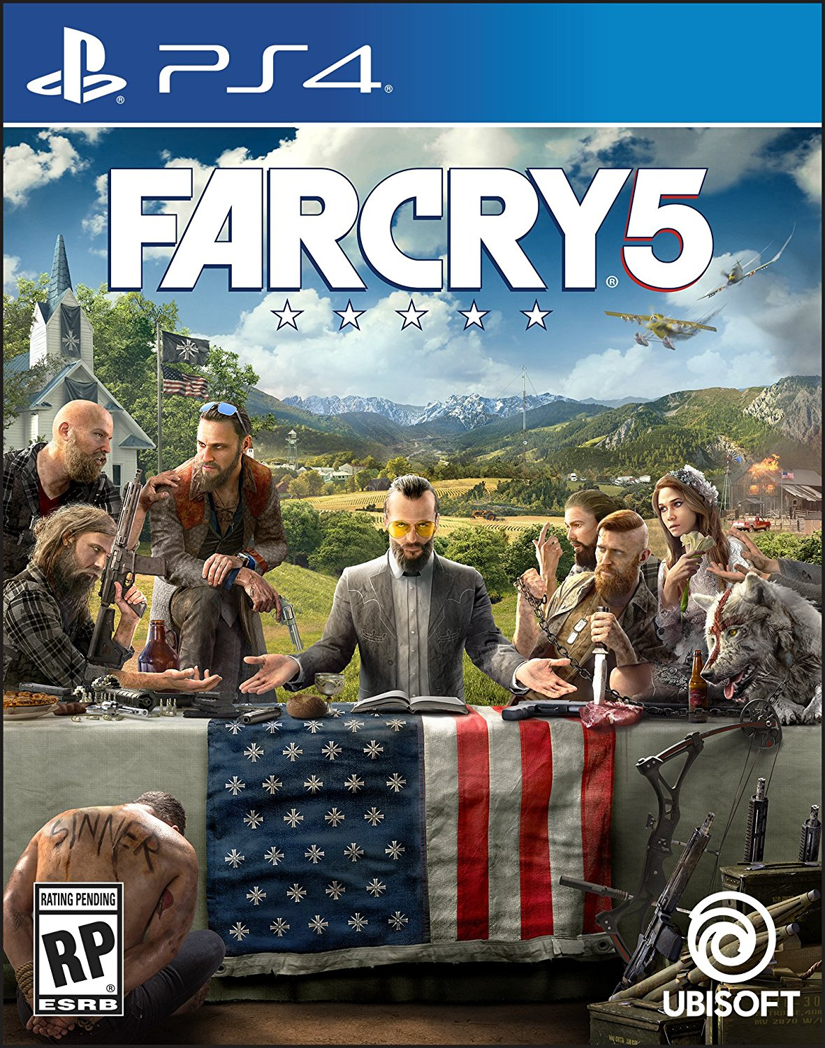 PS4 Far Cry 5 Português e Español (PlayStation 4)