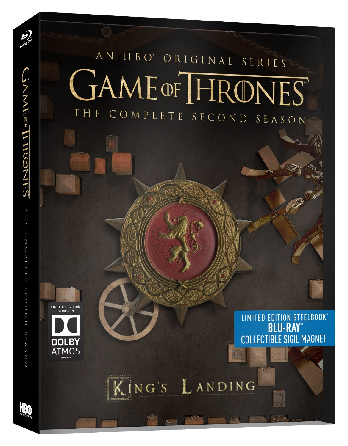 Game of Thrones Segunda Temporada [Blu-ray] (2015)
