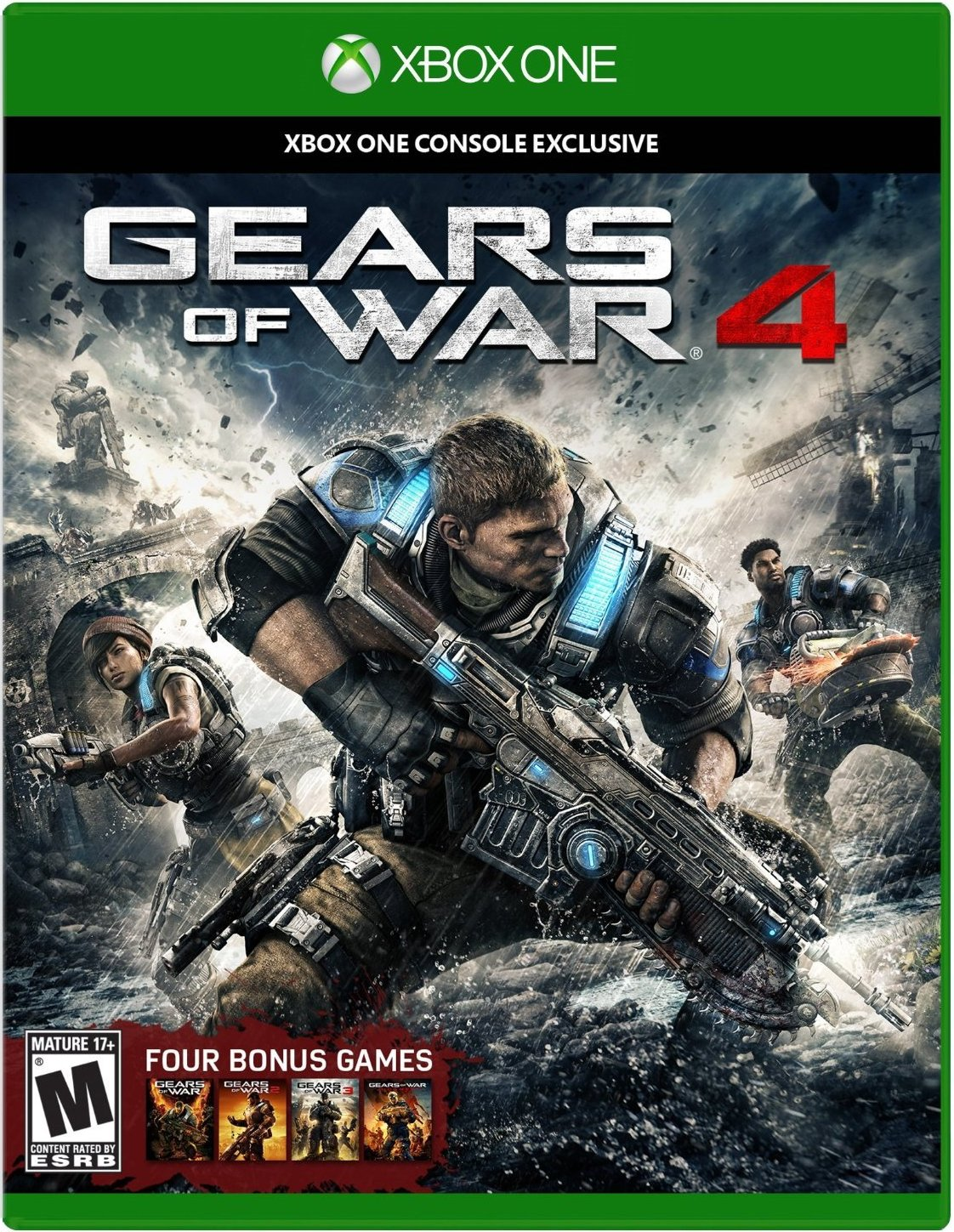 Gears of War 4 for XBOX ONE US