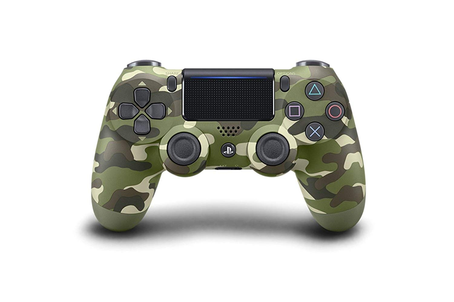 PS4 Dualshock 4 Wireless Controller Green Camouflage