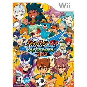 Wii Inazuma Eleven Go: Strikers 2013 JPN