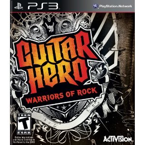 Guitar Hero: Warriors of Rock for PS3 US