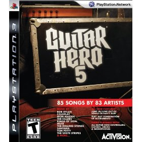 Guitar Hero 5 - Only Game for PS3 US
