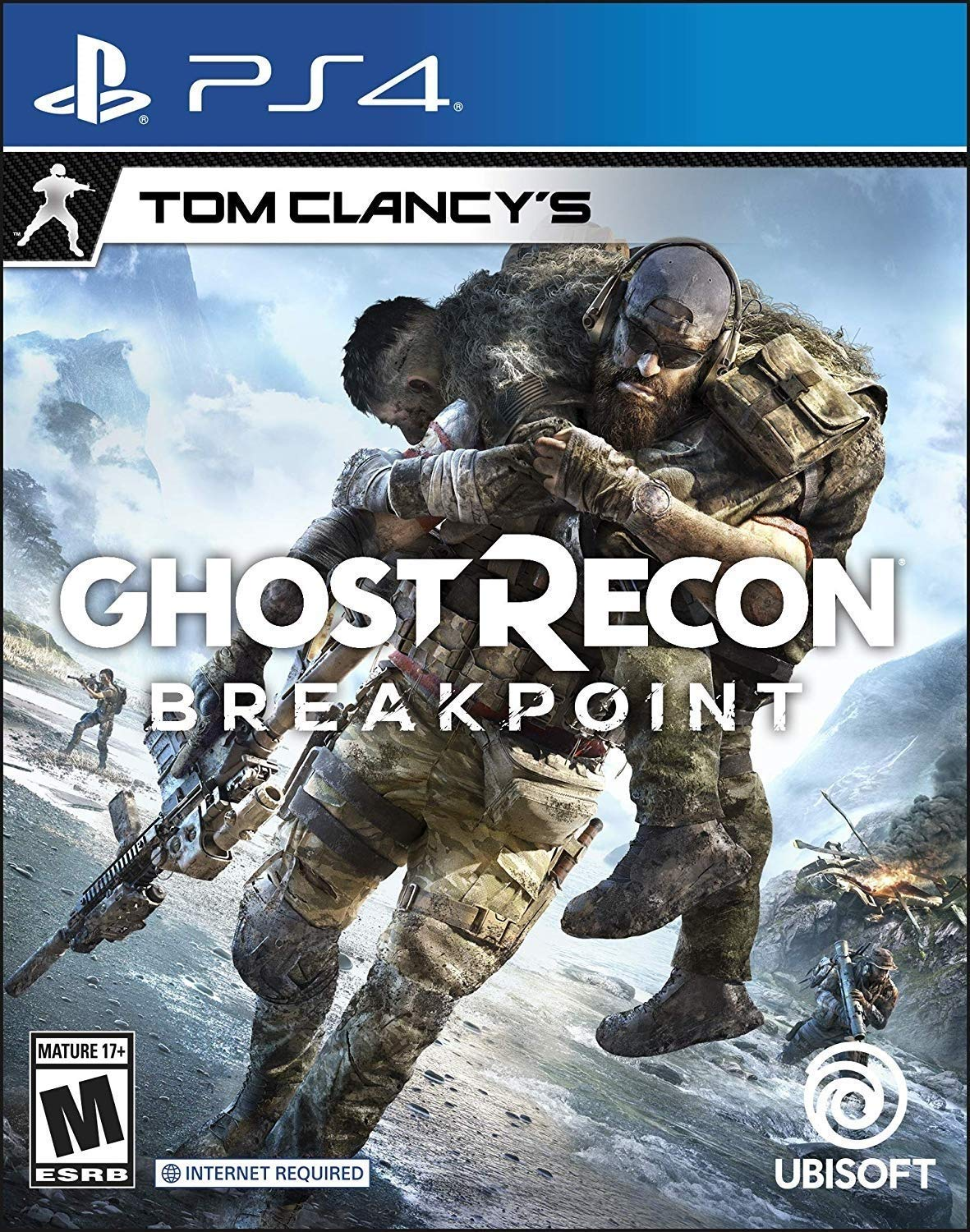 PS4 Tom Clancy's Ghost Recon Breakpoint em Portugues e Español