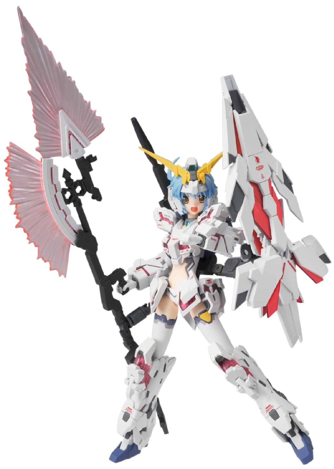 Bandai Tamashii Nations AGP MS Girl Gundam Unicorn