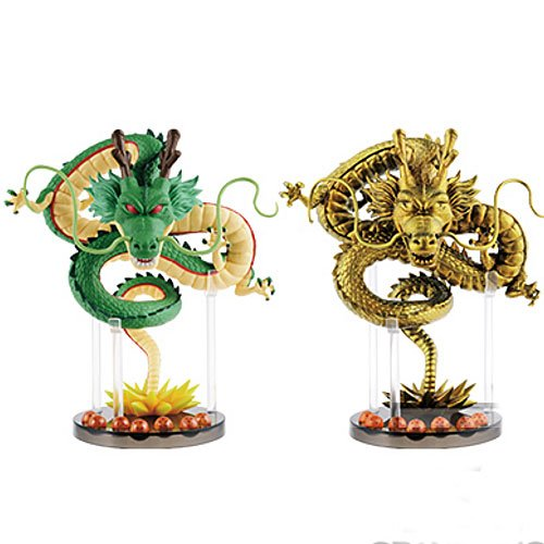 The Dragon Ball Z 2x Shen Long World Collectible Figure GOLD