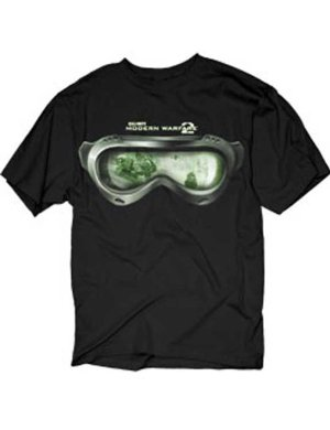 Camiseta Call of Duty Modern Warfare 2: Goggles