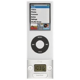 Griffin iTrip FM Transmitter for iPod nano 4G (Silver)