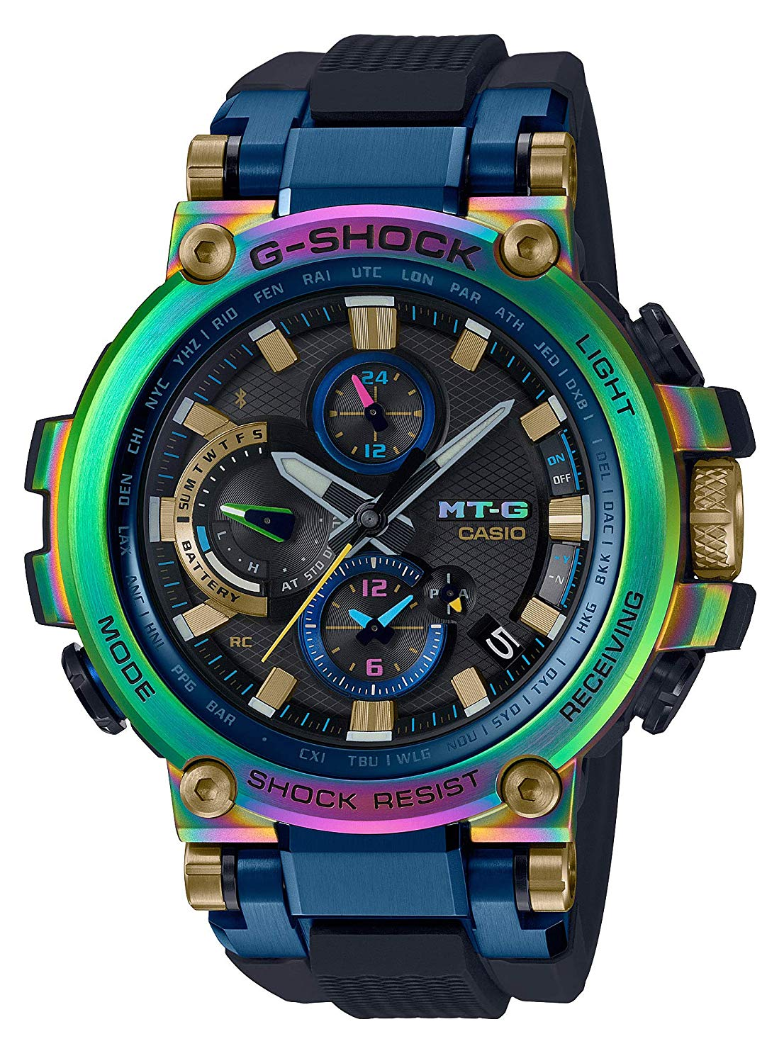 CASIO G-SHOCK MTG-B1000RB-2AJR Bluetooth