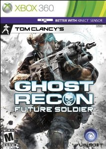 XBox 360 - Tom Clancy's Ghost Recon: Future Soldier US NTSC-U/C