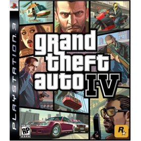 GTA Grand Theft Auto IV for PS3 US