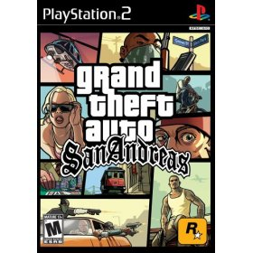 Grand Theft Auto: San Andreas - PS2 US