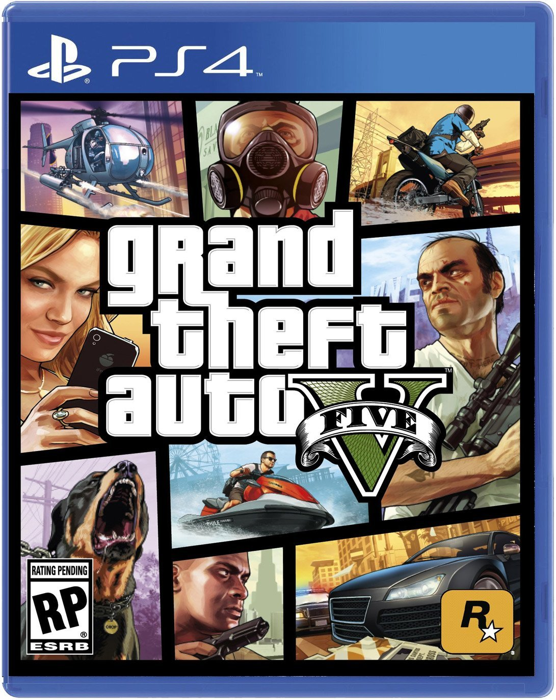 PS4 GTA 5 Grand Theft Auto V em Portugu�s (PlayStation 4)