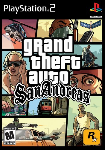 PS2 Grand Theft Auto: San Andreas US